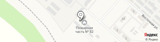 Пожарная часть №82 на карте Шварцевского