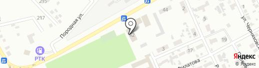 Горняцкий районный отдел Макеевского ГУ ГУМВД Украины в Донецкой области на карте Макеевки