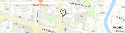 Astinard на карте Крымска