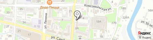 Ирина Люкс на карте Крымска