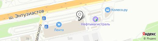 Tele2 на карте Балашихи