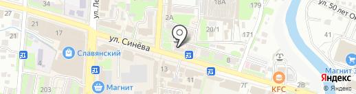 Ленмедснаб-Доктор W на карте Крымска