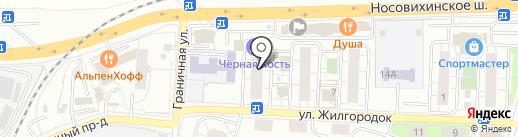Магазин разливного пива на ул. Жилгородок на карте Железнодорожного