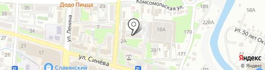Дентал сити на карте Крымска