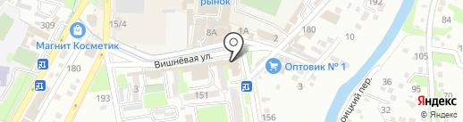 Мебельный салон на карте Крымска