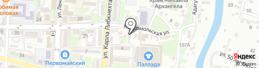 Магия на карте Крымска