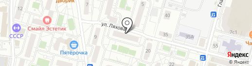 Диана на карте Железнодорожного