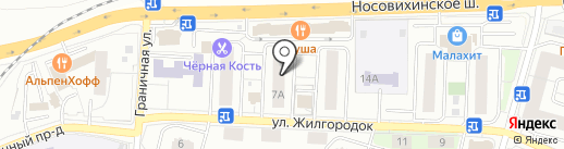 Ингосстрах, ОСАО на карте Железнодорожного