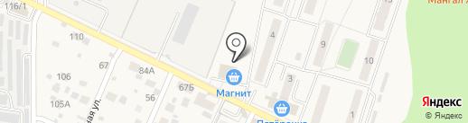 Магнит на карте Нового Городка