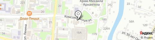 Ателье швейное на карте Крымска