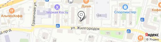 Московское областное БТИ на карте Железнодорожного