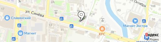 Совкомбанк на карте Крымска