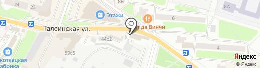 Аут на карте Щёлково