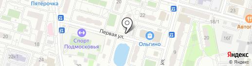 Киоск по продаже колбасных изделий на карте Балашихи