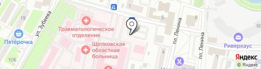 Щёлковский родильный дом №2 на карте Щёлково