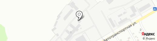 Магазин подержанных шин на карте Макеевки