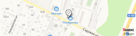 Киоск по продаже печатной продукции на карте Нового Городка