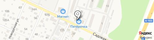 Пятерочка на карте Нового Городка