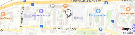 Квартал Недвижимость на карте Железнодорожного