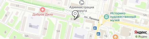 Женская консультация на карте Щёлково