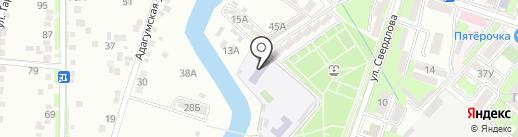 Детский сад №19 на карте Крымска