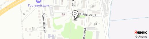 Почтовое отделение №384 на карте Крымска