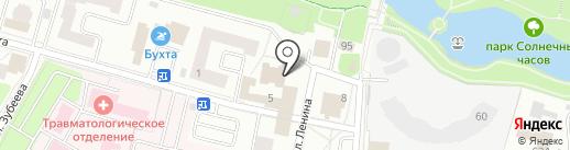 Эффект Доплера на карте Щёлково