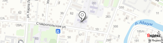 Детский сад №3 на карте Крымска