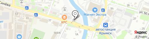 Бакалея на карте Крымска