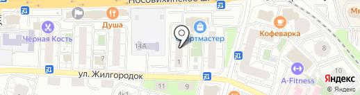 Лит.Ra на карте Железнодорожного