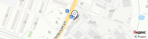 Фиеста Керамика на карте Щёлково