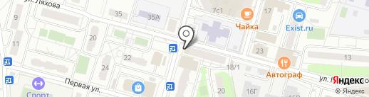Подкова на карте Балашихи