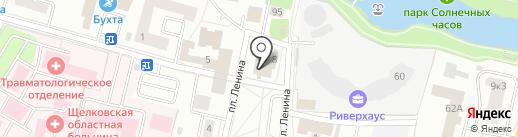 МИЭЛЬ на карте Щёлково