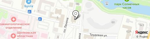 Афродита на карте Щёлково