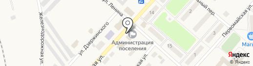 Администрация муниципального образования Шварцевское на карте Шварцевского