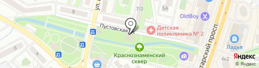 Верес на карте Щёлково