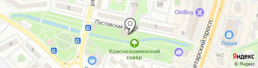 Фаворитка на карте Щёлково