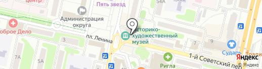 Щёлковский историко-краеведческий музей на карте Щёлково