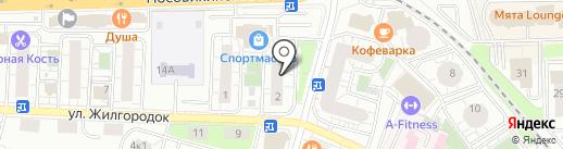 МАКСИ ТРЕВЕЛ на карте Железнодорожного