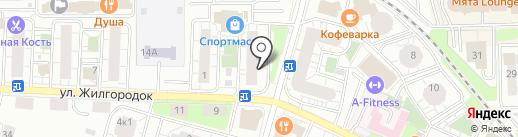 Калита на карте Балашихи