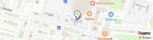 Детский сад №24, Одуванчик на карте Железнодорожного