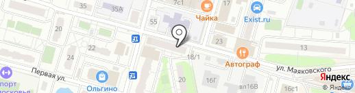 Комфорт вашего дома на карте Балашихи