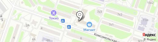 Литвиновские колбаски на карте Щёлково