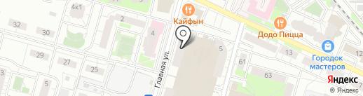Скопа плюс на карте Балашихи