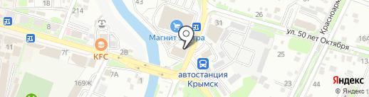 КБ РТС-Банк на карте Крымска