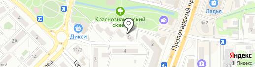 ДХМ на карте Щёлково