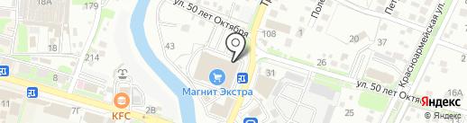 Евросеть на карте Крымска