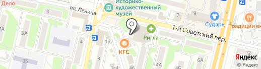 Платный общественный туалет на карте Щёлково