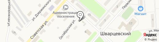 Детский мир на карте Шварцевского