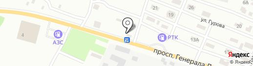 Ландшафтный декор на карте Макеевки